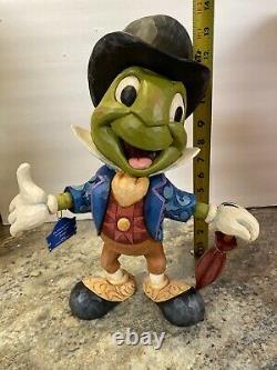 14 Jiminy Cricket Big Fig Umbrella Jim Shore Disney Pinocchio Statute Figurine