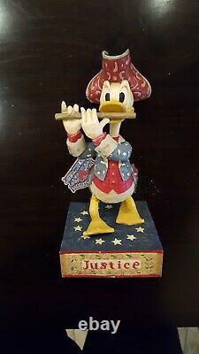 2005 Jim Shore Disney Traditions Mickey Minnie Donald Duck Goofy Retired (4)