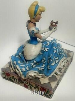 4037511 Jim Shore Disney Traditions Cinderella Jaq Gus Caring And Courageous