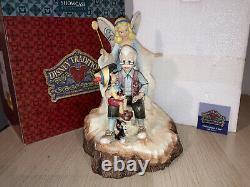 Boxed Jim Shore Disney Traditions Wishing Upon A Star Pinnochio Figurine 4023575