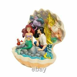 DISNEY TRADITIONS By Jim Shore Little Mermaid Shell Scene