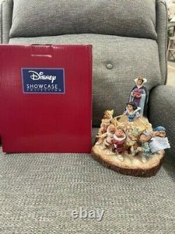 DISNEY TRADITIONS Snow White Carved By Heart Jim Shore Figurine NIB FREE SHIP