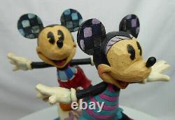 Disney Enesco Figur Jim Shore Traditions 6001275 Surf`s UP! Mickey Minnie surfen