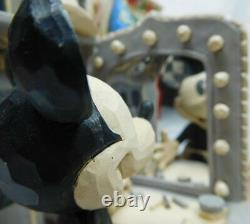 Disney Enesco Jim Shore Traditions 6001267 Mickey Mouse 90 Jahre Geburtstag s/w