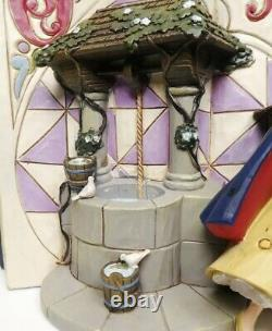 Disney Enesco Jim Shore Traditions StoryBook 4031481 Snow White Brand New Rare