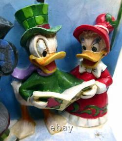 Disney Enesco Traditions Shore Story Book Merry Christmas Carol Mickey 6002840