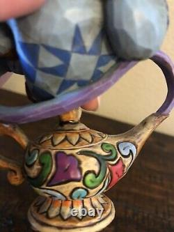 Disney Jim Shore Aladdin Genie Lamp Illuminate the Possibilities