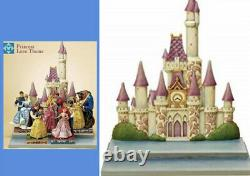 Disney Jim Shore Lot/Set of Love Theme Castle + 5 Dancing Prince/Princesses
