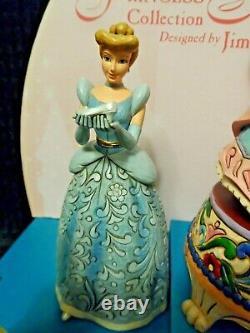 Disney Jim Shore Traditions Princess Sonata with Display Set NIB
