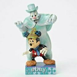 Disney Mickey Mouse Lonesome Ghost Jim Shore Spooked Halloween Figurine 4051979