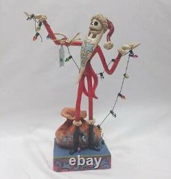 Disney Parks Enesco Jim Shore Figure Jack Decoration Santa Traditions RARE HTF
