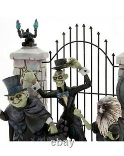 Disney Parks Jim Shore Haunted Mansion Hitchhiking Ghosts Glow in Dark Figurine