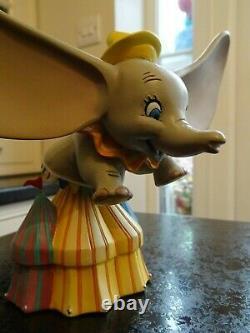 Disney Rare Dumbo Jester Bust Showcase Traditions