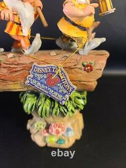 Disney Showcase Traditions Jim Shore Enesco Seven Dwarfs Homeward Bound 4005434