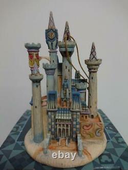 Disney Tradition Cinderella Castle Jim Shore Enesco Christmas ornament