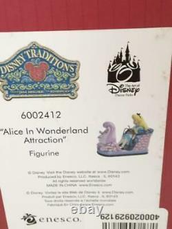 Disney Tradition Enesco Showcase Alice In Wonderland Green Caterpillar