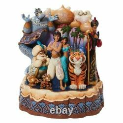 Disney Traditions Aladdin Carved by Heart Jim Shore Statue 3/20 2021 PRESALE