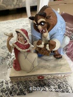 Disney Traditions Beauty And The Beast. Jim Shore, Showcase, Enesco, Rare