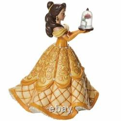Disney Traditions Belle Deluxe A Rare Rose 1st in a Series 15 Figurine 6009139
