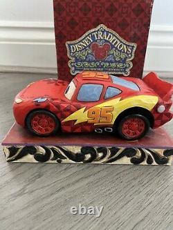 Disney Traditions Cars Lightning McQueen Ka-Chow 4023567 Jim Shore Disney Rare