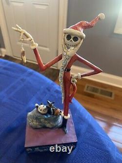 Disney Traditions Enesco/JimShore Santa Jack Nightmare Before Christmas