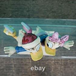 Disney Traditions Enesco Jim Shore Donald & Daisy Duck Skating Pair 4033269 CIB
