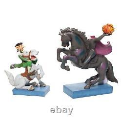 Disney Traditions Headless Horseman Jim Shore Figurine Heads Up Ichabod 6007059