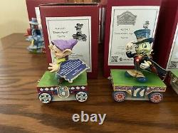 Disney Traditions Jim Shore Birthday Train Complete Set Ages 1 9 All New