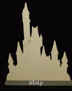 Disney Traditions Jim Shore Enesco Castle Disney Princess Love Theme Displayer
