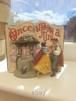 Disney Traditions Jim Shore Enesco Snow White Story Book (Read Description)