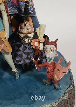 Disney Traditions Jim Shore Nightmare Before Christmas Jack & Sally Figurine