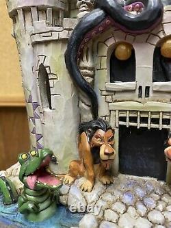 Disney Traditions Jim Shore Showcase Tower of Fright Enesco Villains Castle Box