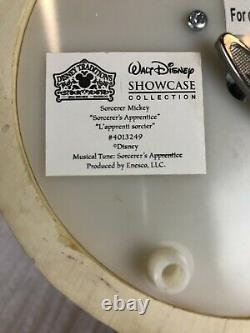 Disney Traditions Jim Shore Sorcerer Mickey Sorcerer's Apprentice Music Box