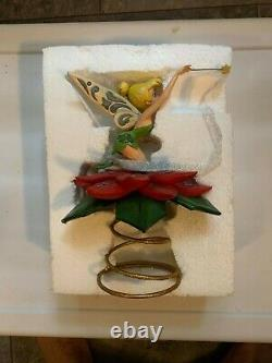 Disney Traditions Jim Shore TINKERBELL TREE TOPPER A Touch of Sparkle NIB RARE