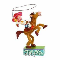 Disney Traditions Jim Shore Toy Story Jessie and Bullseye Figurine Enesco NEW