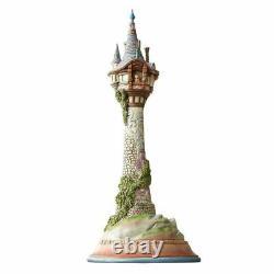 Disney Traditions Masterpiece Rapunzel Tower 18 Inch Figurine 6008998