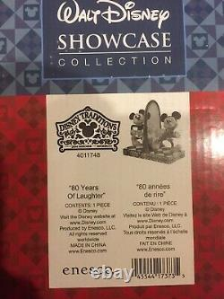 Disney Traditions Mickey Mouse 80 Years of Laughter 4011748 Jim Shore Brand New