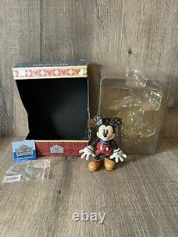 Disney Traditions Mickey Mouse Marionette Showcase Collection Boxed 4023576