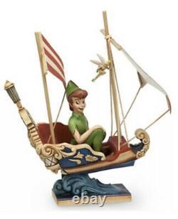 Disney Traditions Peter Pan Flight Disneyland Paris Enesco Jim Shore 4032116 New