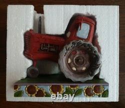 Disney Traditions Pixar Cars Moooooo Tractor Figurine by Jim Shore (Enesco)