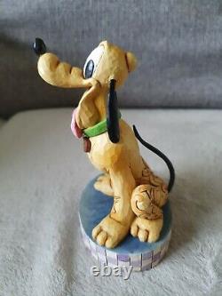 Disney Traditions Pluto'Loyal Pluto' Figurine. 4009256