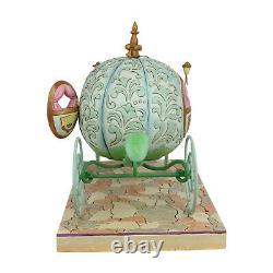 Disney Traditions Pumpkin Coach with Cinderella Statue Carriage, Jim Shore