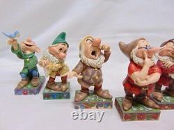 Disney Traditions Showcase Collections Jim Shore Snow White's Seven Dwarfs Figur