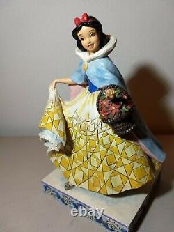 Disney Traditions Snow White Figurine Winter Snow Jim Shore 4026076
