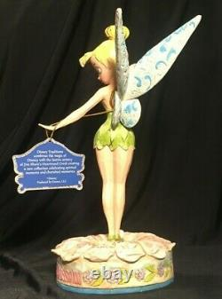 Disney Traditions Tinkerbell Let Your Dreams Blossom 4005221 BOXED Jim Shore