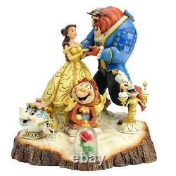 Disney Traditions by Jim Shore Beauty and the Beast Six Character Stone Resin