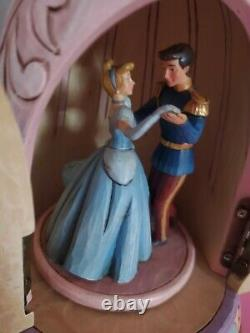 Disney traditions Cinderella, Pink Dress, Rare, Jim Shore, Showcase with flaws