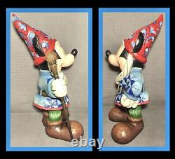 Enesco Disney Traditions 15 Mickey Mouse- Theres No Place Like Gnome Jim Shore