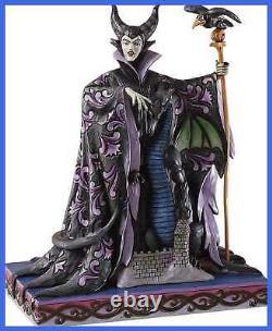 Enesco Disney Traditions By Jim Shore Maleficent W Dragon Figurine