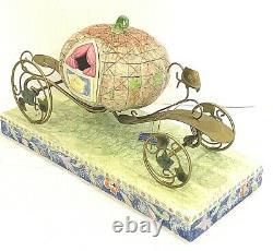 Enesco, Disney Traditions, Cinderella with Pumpkin Carriage & Horse By Jim Shore